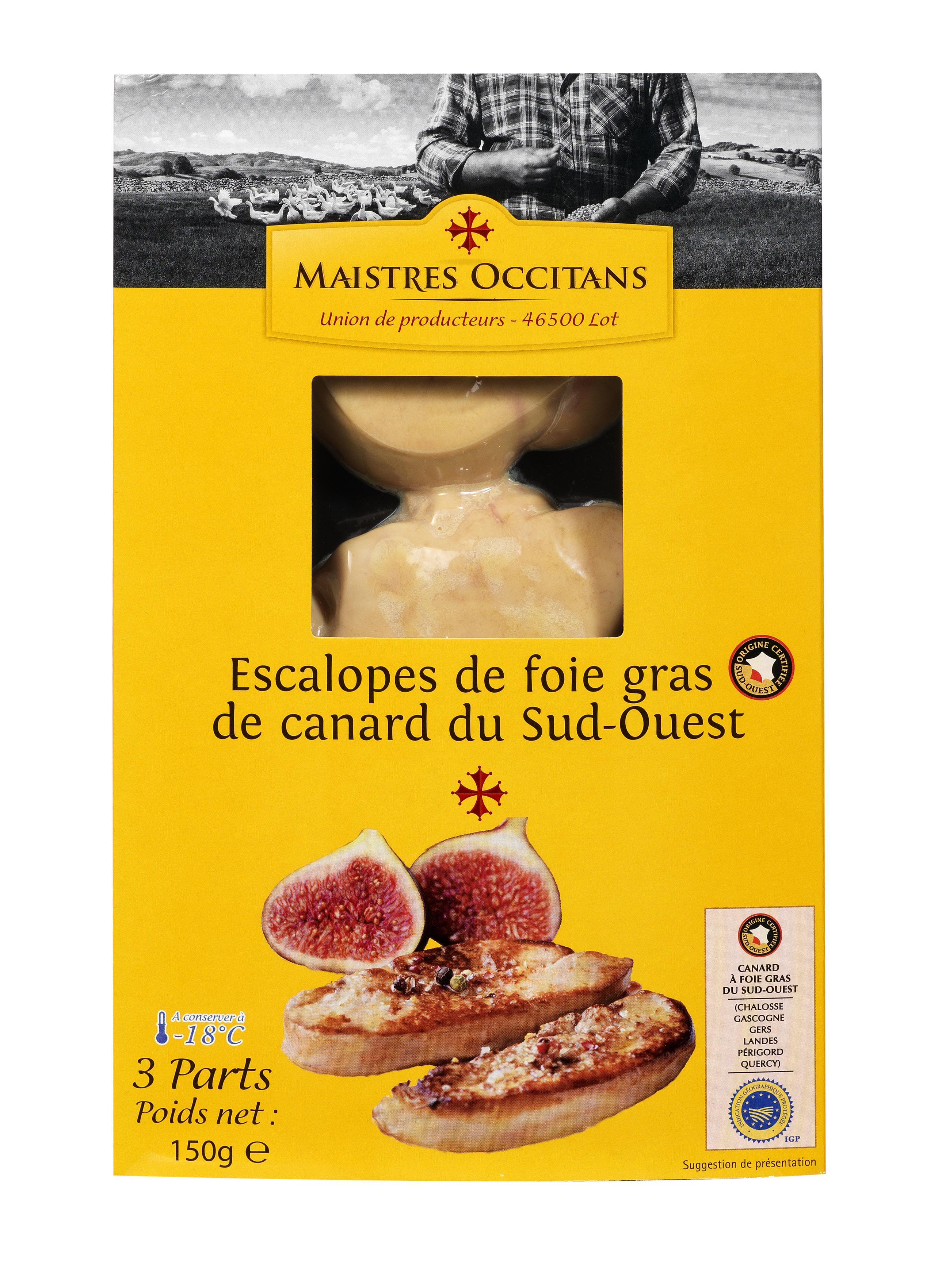 Le foie gras maistres occitans - Cuisiner le foie gras frais ...