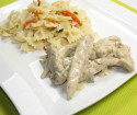 aiguillettes de canard Maistres Occitans au foie gras