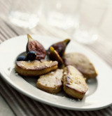 Escalopes de foie de canard poêlées aux figues et Banuyls