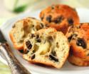 muffins aux gésiers de canard et aux champignons