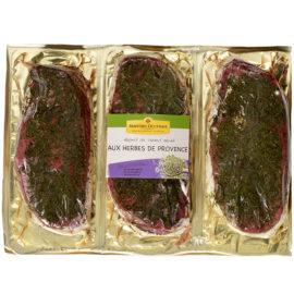 3 magrets de canard marinées aux herbes de Provence