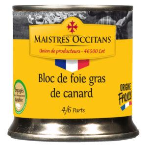 Bloc de foie gras de canard 200g