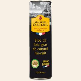 Bloc de foie gras de canard mi-cuit 1kg