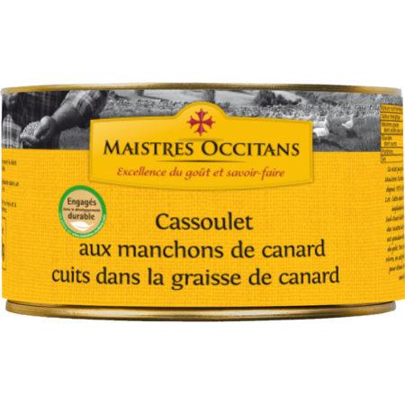 Cassoulet aux manchons de canard 1500g
