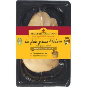 Foie gras de canard cru extra