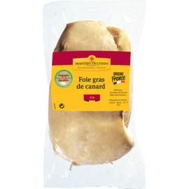 Foie gras de canard cru tout venant