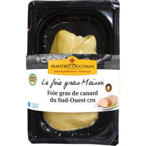 Foie gras de canard du Sud-Ouest 1er choix surgelé