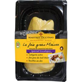 Foie gras de canard du Sud-Ouest cru 1er choix spécial escalopes