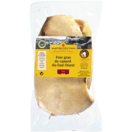 Foie gras de canard du Sud-Ouest cru, tout venant