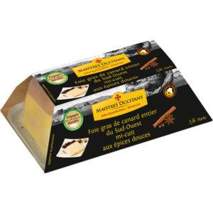 Foie-gras-de-canard-entier-du-Sud-Ouest-aux-épices-douces-mi-cuit-250g