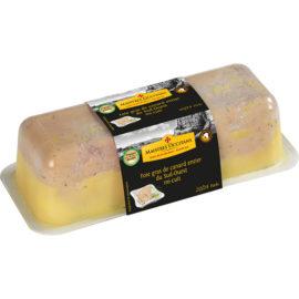 Foie gras de canard entier du Sud-Ouest mi-cuit 1kg