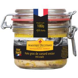 Foie gras de canard entier mi-cuit 180g