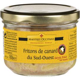 Fritons de canard du Sud-Ouest 180g
