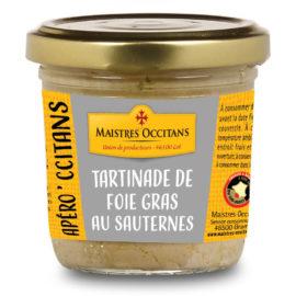 Tartinades de foie gras au Sauternes 90g