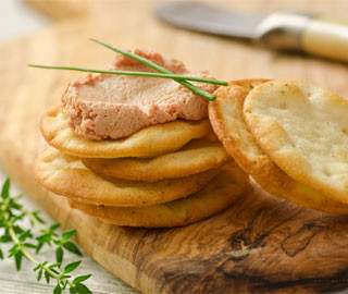 Crème au foie de canard parfumée au Sauternes