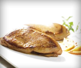 Escalopes de foie gras de canard