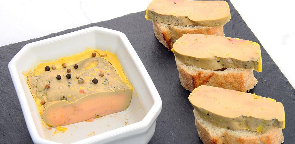 Foies gras prets à consommer
